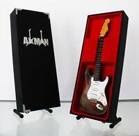 Rory Gallagher Mini Guitar Replica (UK seller) 1961 Fender Stratocaster merch