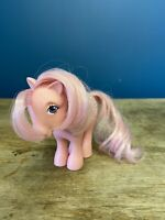 Vintage My Little Pony G1 1982 Cotton Candy Pink Hair 80s