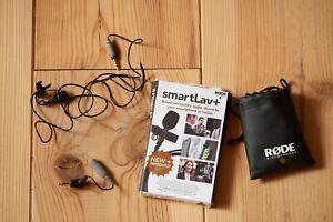 Rode lav mic smartlavplus lavalier + sc3 adapter microphone