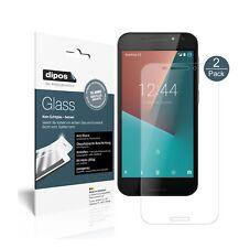 2x Vodafone Smart N8 Protector de Pantalla Vidrio Flexible Mate Proteccion 9H