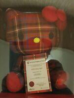 Hello Kitty x Lochcarron of Scotland Collaboration Sanrio Rare Plush Doll Japan