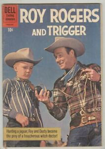 "Roy Rogers and Trigger #141 January 1961 VG, Classic ""Jaguar Hunt"""
