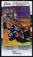 Paul Coffey JSA Coa Hand Signed 1994 Fleer Autograph