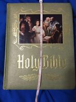 Holy Bible Master Reference Edition Heirloom Family Bible Letter Scripture