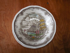 """Kensington England SHAKESPEARE'S SONNETS R2815 Set of 3 Cereal Bowls 6 1/2"""""""