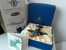 """More details for peter fagan.""""sopwith's solo flight"""".(cc932s) 1984.lmt.edition box,label,cer"""