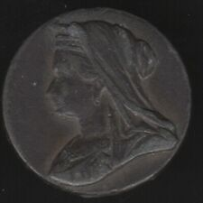 More details for 1897 victoria empress jubilee medal made in france | pennies2pounds