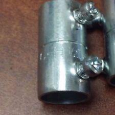 "Cooper Crouse-Hinds 460 EMT Set Screw Coupling, 1/2"", Steel  QTY 38"