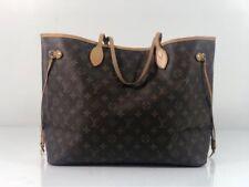 Louis Vuitton Monogram Neverfull GM with Beige Interior Tote Shoulder Handbag
