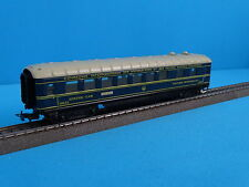 Marklin 346/2J  4009 Speisewagen Dining-Car blue version 4  1954  Tin Plate