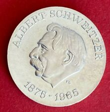 DDR 10 Mark 1975 Albert Schweitzer  Silber Stempelglanz