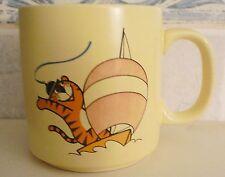 1988 OLYMPIC GAMES SEOUL Mascot Hodori Sailling Ceramic Coffee Mug Cup by SLOOC