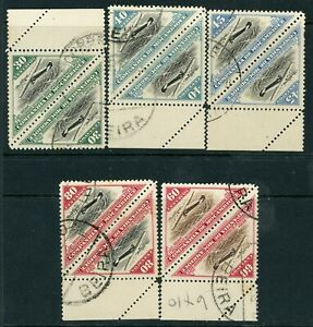 Mozambique Company 1935 Air selection to  80c FU pairs