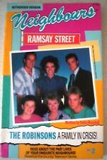 Aust NEIGHBOURS, RAMSAY STREET - THE ROBINSONS, FAMILY IN CRISIS! TV Series p/b