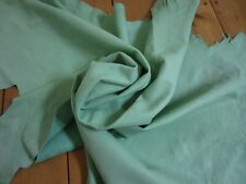 Napa Soft SHEEP leather HIDE Pastel Green Lambskin leather craft different sizes