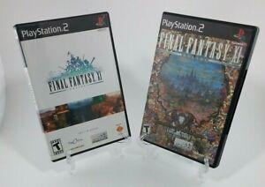 Final Fantasy XI & XI Treasure of Aht Urhgan Both Complete TESTED WORKING