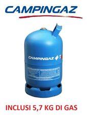 BOMBOLA PIENA CAMPINGAZ ART. 909  CON 5,70 KG GAS - IDALE PER CAMPER E CAMPEGGIO