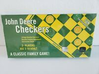 JOHN DEERE CHECKERS Classic Family Game SEALED Ages 5 to Adult