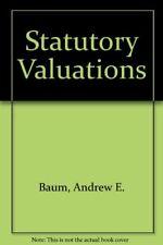 Statutory Valuations By Andrew E. Baum, Gary Sams