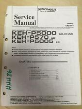 Pioneer Service Manual for the KEH P5000 P570 P5005 Car Stereo w/fiche     mp