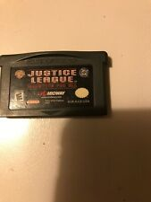 Justice League: Injustice for All (Nintendo Game Boy Advance Cartridge Only