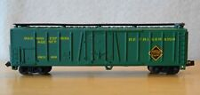 N scale reefer REX Railway Express NIB AHM Minitrains 4454F