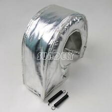 T4 Silver Turbo Charger Turbocharger Blanket Heat Shield Cover GT47 GT55