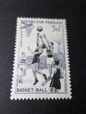 FRANCE 1956, timbre 1072, SPORT, BASKET-BALL neuf**, MNH STAMP