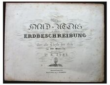 1844 SOHR - ATLAS - Original Title Page - First Edition