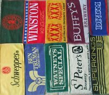10 Different Beer - Bar Towels -