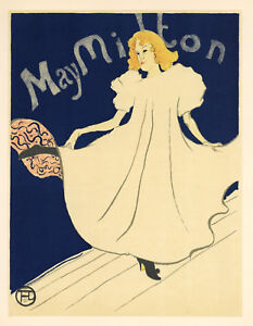 Toulouse-Lautrec lithograph poster (printed by Mourlot) 6578890