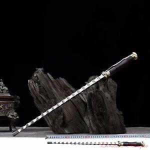 Hand Forged Steel Strike Devil Whip Single Mace Martial Arts Battle Ready #1787