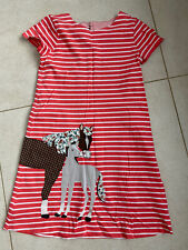 Mini Boden Girls 9-10  T Shirt  Dress Horses
