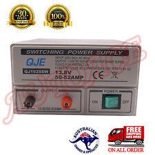 Switched Mode Power Supply 13.8V 12V 50A For Ham Radio Stereo Amplifier Speaker