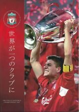 Liverpool World Cup Home Teams L-N Football Programmes
