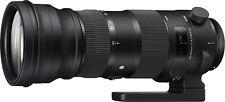 SIGMA 150-600mm Tele Zoom Objektiv 5,0-6,3 DG OS HSM Sports für Canon EOS