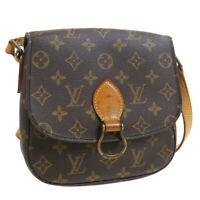 LOUIS VUITTON MINI SAINT CLOUD SHOULDER BAG MONOGRAM M51244 LP0960 33662