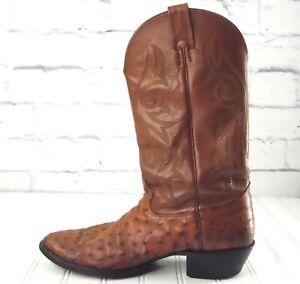 NOCONA Men's Full Quill Ostrich Boots US 10D
