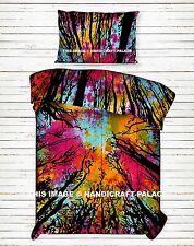 Indian Locust Forest Comforter Set Duvet Quilt Cover Reversible Blanket Bedding