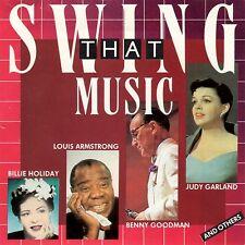 CD - Swing That Music - 20 Songs Rare Andrew Sisters Benny Goodman Glenn Miller