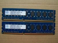 8GB 2X4GB DDR3 PC3-12800U Desktop Memory Ram DELL HP LENOVO ACER GATEWAY