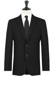 D1 Mens Black Masonic Masons Morning Wedding Evening Formal Suit Jacket