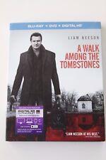 A WALK AMONG THE TOMBSTONES BLU-RAY + DVD + DIGITAL HD - LIAM NEESON