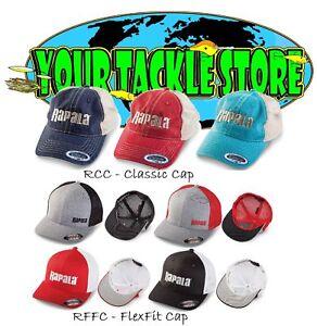 Rapala Classic or Flexfit Cap Pick Model & Qty Hat