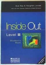 INSIDE OUT LEVEL III - STUDENT'S BOOK - MACMILLAN HEINEMANN 2000 - VER INDICE