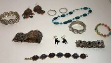 Fashion Jewelry Lot Metals Beads Necklace Stretch Bracelets Earrings Faux Pearls