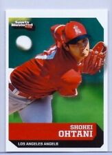 """SHOHEI OHTANI 2018 SPORTS ILLUSTRATED """"1ST EVER PRINTED"""" ROOKIE CARD #735!"""