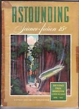 Pulp ASTOUNDING SCIENCE FICTION April 1942 - Robert Heinlein, L. Ron Hubbard
