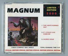 Magnum 3-INCH-cd-single  THE LIGHTS BURNED OUT ©1988 France-3-Track - Hard Rock