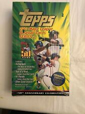 2001 Topps Series 2 Baseball 36-Pack Retail Box Factory Sealed.  See Description